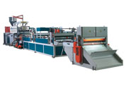 PP、PE Sheet Extruder (Can configure single / double colour printing system)