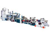 APET Single Layer Plastic Sheet Extrusion Line